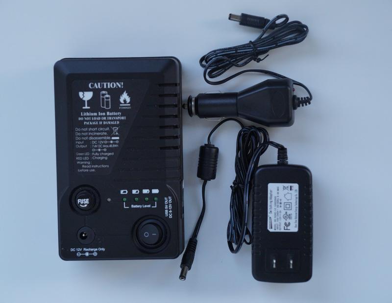 取付管カメラヘッドBT200バッテリーパック