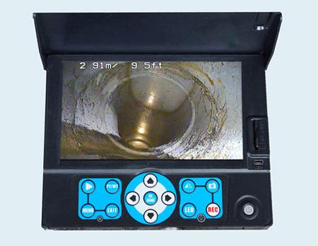 取付管カメラヘッドBT200モニタ