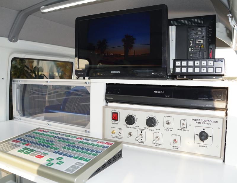 テレビカメラ車4