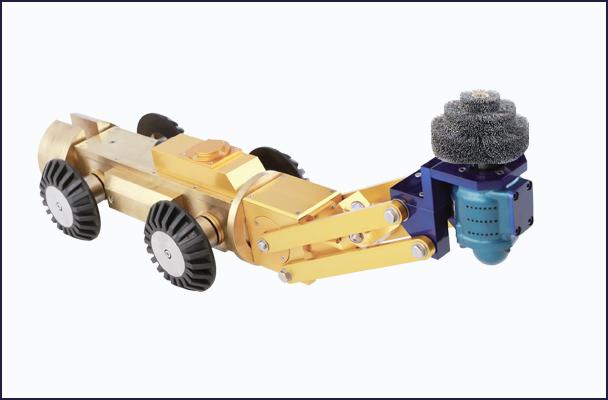 本体 自走式穿孔ROBOT