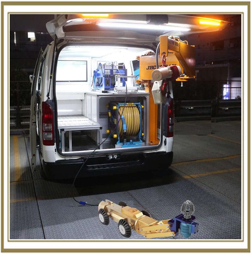 穿孔機 メーカー自走式穿孔機車